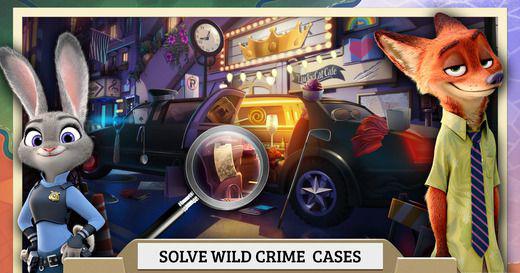 迪士尼旗下的电影《疯狂动物城》在上映时期留下好评一片,而现在迪士尼正式推出一款名为《疯狂动物城犯罪档案:隐藏对象》的找物游戏。值得不过需要注意的是,本作暂时并未登录国区App store,但游戏内自带简体中文,上架国区指日可待。    而这款游戏素质怎么样呢?在游戏中,剧情延续动画,在游戏中狐尼克已经正式成为一名警察。警官朱迪·霍普斯和狐尼克这对欢喜冤家将联手破获一个有一个案件!